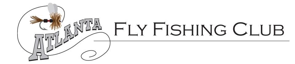 Calendar for Fly fishing atlanta