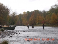 Gregg Goff on the Salmon River, Pulaski, NY 1